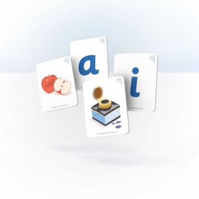 Sample image of Vowel cards