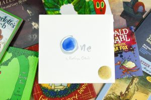 The book One by Kathryn-Otoshi