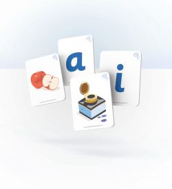 Sample image of Vowel cards