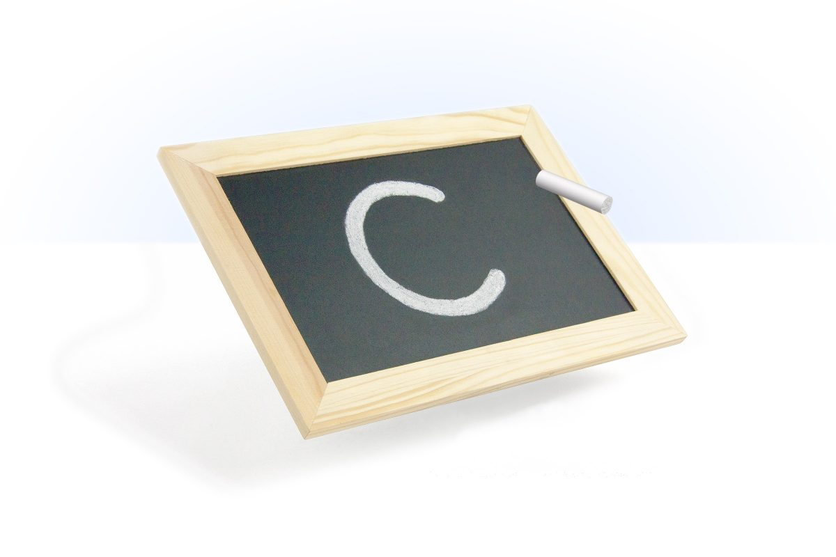 Image of blackboard and chalk