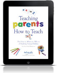 image of Teaching Parents How To Teach on an iPad