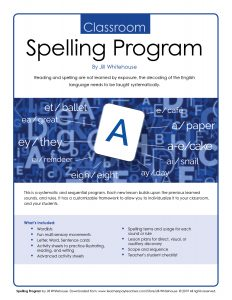 The Classroom Spelling Program