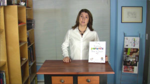 video of Jill introducing our book Teaching Parents How To Tech